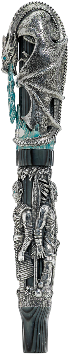 The Game of Thrones Winter Is Here Fountain Pen, Silver